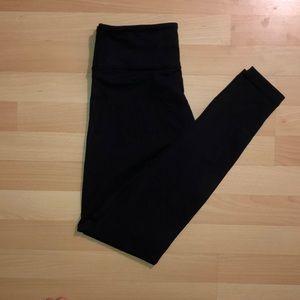 Plain Black Lululemon Leggings